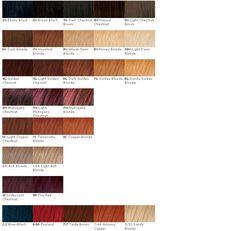 Naturtint Permanent Hair Colour Guide