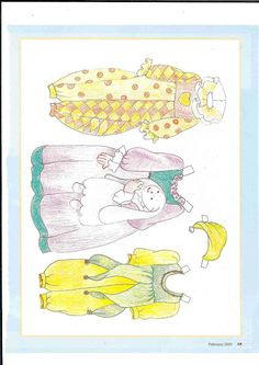 More dolls from American paper - Ulla Dahlstedt - Picasa Web Albums