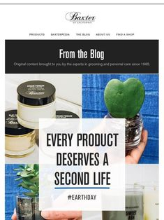 Milled has emails from Baxter Of California, including new arrivals, sales, discounts, and coupon codes. Baxter Of California, Hair Pomade, Mothers Day Special, Email Newsletters, After Shave Balm, Clams, Smell Good, Coupon Codes, Fathers Day Gifts