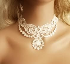 lace necklace. - Pesquisa do Google