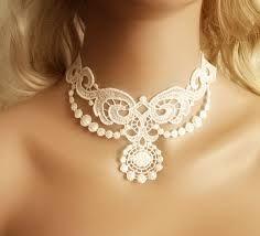 lace necklace. - Pesquisa do Google