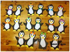 Znalezione obrazy dla zapytania pingwin szablon