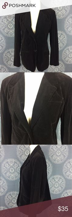 """Vintage Prestige Sportswear Black Velvet Blazer Vintage black velvet blazer from Prestige Sportswear Inc """"Butterfly"""". It is from eithher the 70s or 80s. It has a 2 button closure and 2 front flap pockets. It is in good shape for being vintage, but it does need a cleaning. Dry clean only. 22"""" armpit to armpit and 27"""" in length. Vintage sizes tend to run smaller. Prestige Sportswear Inc Jackets & Coats Blazers"""
