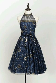 Lost Angel -The Starry Night- Lolita JSK Version II Source by dresses night Pretty Outfits, Pretty Dresses, Beautiful Dresses, Cute Outfits, Cozy Fall Outfits, Looks Chic, Fantasy Dress, Lolita Dress, Lolita Fashion