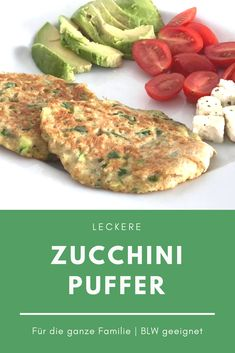 Zucchini buffer BLW suitable A delicious family recipe! Zucchini buffer, a to . - Zucchini buffer BLW suitable A delicious family recipe! Zucchini Buffer, a great recipe for toddler - Baby Food Recipes, Great Recipes, Dinner Recipes, Healthy Recipes, Toddler Meals, Kids Meals, Zucchini Puffer, Baby Snacks, Family Meals
