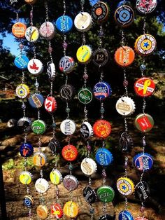 The Humphries House: Bottle Cap Wind Chime