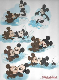 Mina convinces Mickey to entr in the water, and teaches him to swim. vampires are not ok with the water XD swimming lesson Mickey Mouse Wallpaper, Mickey Mouse Cartoon, Mickey Mouse And Friends, Mickey Minnie Mouse, Disney Wallpaper, Disney Jokes, Disney Xd, Disney And Dreamworks, Disney Mickey