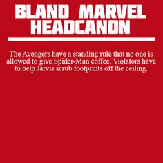 Clint just doesn't get why the other Avengers always want specific conditions to help them focus. Bruce wants quiet, Tony wants ACDC at a ridiculous volume. Clint has an archer's focus - Bland Marvel Headcanon Marvel Memes, Marvel Dc Comics, Marvel Avengers, Marvel Facts, Funny Avengers, Marvel Funny, Avengers Superheroes, Avengers Cast, Avengers Quotes