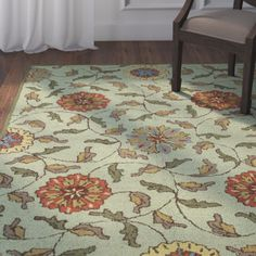 Found it at Joss & Main - Artemis Area Rug in Light Green