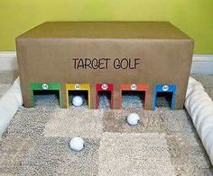 Caja golf