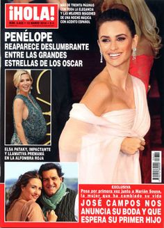 ¡HOLA! A short subscription of my favorite magazine Spain Edition, since I can find it in any locally.