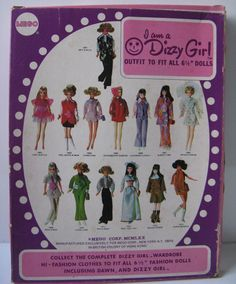 "Mego Dizzy Girl 6.5"" doll Fashion Lotsa Lime #1610 NRFP fits Dawn | eBay"