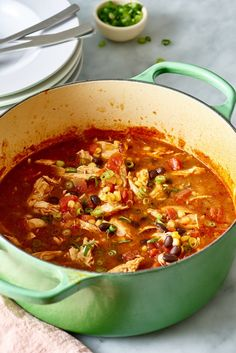 Recipe: Chicken Taco Soup | Kitchn