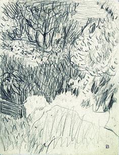 Le Cannet n° 598, 1942, crayon sur papier, 12,5 x 16 cm, musée Bonnard © Adagp, Paris 2014