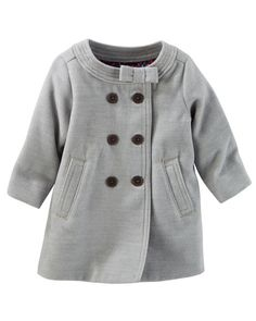 Baby Girl Peacoat from OshKosh B'gosh. Shop clothing & accessories from a trusted name in kids, toddlers, and baby clothes.