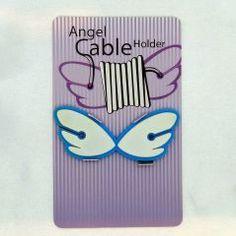 Kablolarınızı melekler düzenlesin... Ölçüler: 2,5 cm x 6,5 cm Renk: Beyaz-Mavi