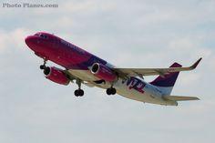 Airbus A320-232 - HA-LWZ - Wizz Air