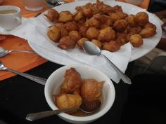 Buñuelos. Photo by Karin Ruiz l Only the best of Guatemala. Visit our recipe link: http://recetas.mundochapin.com