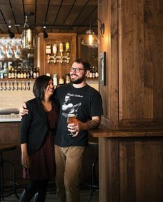 Seattle couple Anu & Chris Elford share the backstory on their new bars, No Anchor and Navy Strength. | Photo by Charity Burggraaf. #Imbibe75