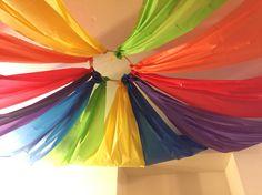 Rainbow Drapes