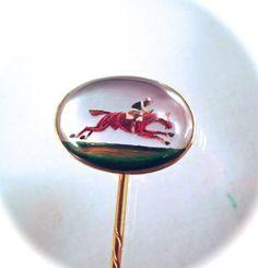 Antique-18k-gold-essex-crystal stick pin