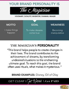 Brand Archtype - The Magician Take The Quiz Jungian Archetypes, Brand Archetypes, Self Branding, Business Branding, Infp Relationships, Small Minds Discuss People, Business Management, Life Skills, The Magicians