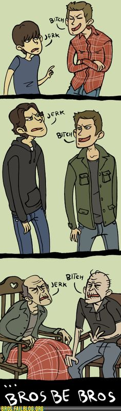 oh sam and dean