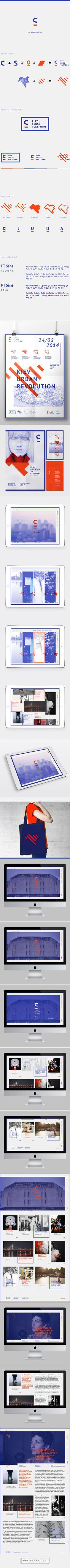 City Sense Platform by Irene Shkarovska