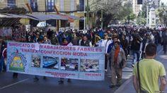 Fracaso textil entre Bolivia y Cuba termina en huelga obrera