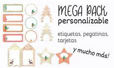Mega Pack Imprimibles para una Navidad Perfecta. Diseño Gráfico Personalizado para Blogueras y Emprendedoras Valientes