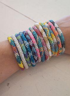 I want this many on my arm now. Lily & Laura bracelets! @Ashley Lanham @Katie Fehlig