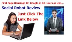 Social Robot Review Number1   Auto Social Bookmarking Submission Software you must know!
