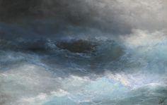 Ivan Aivazovsky (1817-1900), Stormy Sea, oil on canvas