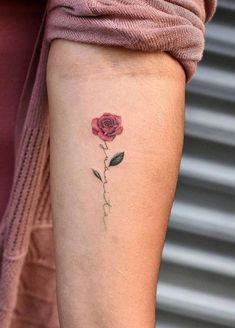 Pin on Tattoos I d like to have Pin On Tattoos I D Like To Have. 70 Name Tattoos To Guide You In Your Soul Searching Journey. Mini Tattoos, Oma Tattoos, Tattoo Oma, Body Art Tattoos, Forearm Tattoos, Name Flower Tattoo, Rose Tattoo With Name, Little Rose Tattoos, Small Flower Tattoos