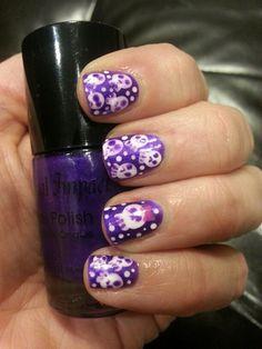 My skull nails