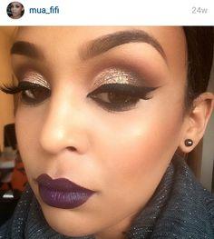 Fleek makeup alert.  Beautiful☆