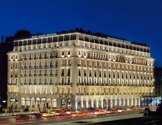 Hotel Grand Bretagne -Athens, Greece -Honeymoon splurge but definitely worth it!