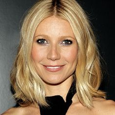 cute shoulder length bob  Gwyneth Paltrow - Transformation - Beauty