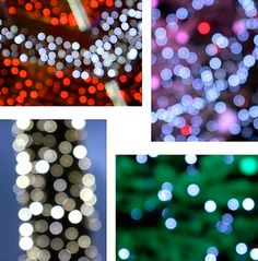 Bokeh effect pictures