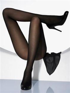de4186e0286 Black Opaque Tights  I love tights. Not nylons or pantyhose - tights.  Marshalls and Tjmaxx always have a ton of different brands.