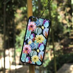 iPhone Case Summer Cactus Painting For iPhone 4, iPhone 5, iPhone 5c, iPhone 6, iPhone 6 Plus in Plastic, Rubber or Heavy Duty*