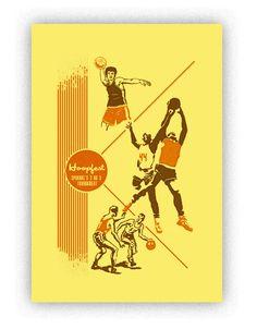 Hoopfest print 13X19 by Chris Bovey