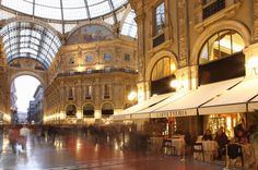 Visit the Galleria Vittorio Emanuele II – one of the world's oldest shopping malls