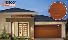 Steel-Line DecoWood timber look steel garage door