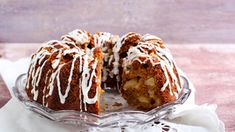 Apple wholemeal and honey bundt cake Ring Cake, Scones, Muffin, Sweets, Apple, Baking, Breakfast, Minden, Dios