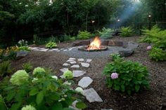 "Outstanding ""outdoor fire pit designs"" info is offered on our site. Have a look and you wont be sorry you did. Paver Fire Pit, Concrete Fire Pits, Fire Pit Backyard, Fun Backyard, Fire Pit With Pavers, Fire Pit Gravel Area, Garden Fire Pit, Fire Pit Area, Backyard Seating"