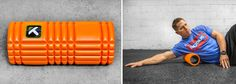 The Grid (Orange) - Trigger Point Foam Roller - Rogue Fitness