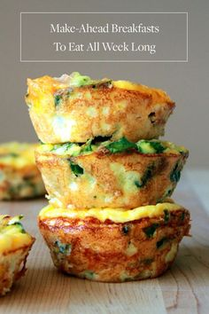 13 Mouthwatering Make-Ahead Breakfasts  via @PureWow