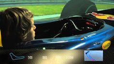 F1 Track Simulator - Sebastian Vettel at Monza