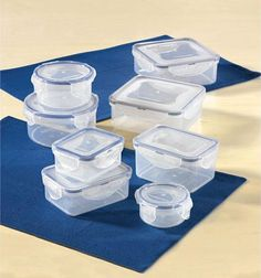 Ideal for leftovers, lunch boxes and food storage. I can store lunch & snacks in these containers to eat during classes!